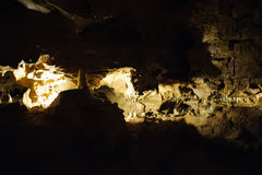 Σπηλιά κρυστάλλου οριζόντια Στοκ Εικόνα