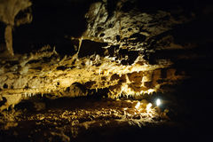 Σπηλιά κρυστάλλου οριζόντια Στοκ εικόνες με δικαίωμα ελεύθερης χρήσης