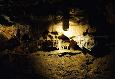 Σπηλιά κρυστάλλου οριζόντια Στοκ φωτογραφίες με δικαίωμα ελεύθερης χρήσης