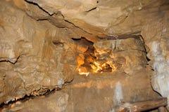 Σπηλιά κρυστάλλου οριζόντια Στοκ εικόνα με δικαίωμα ελεύθερης χρήσης