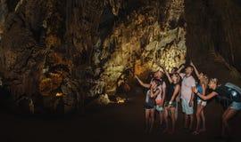 Σπηλιά κτυπήματος Nha KE Phong Στοκ φωτογραφίες με δικαίωμα ελεύθερης χρήσης