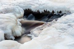 Σπηλιά πάγου Στοκ φωτογραφία με δικαίωμα ελεύθερης χρήσης
