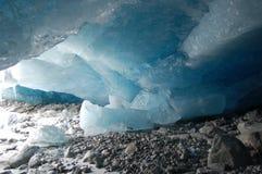 Σπηλιά παγετώνων Στοκ Φωτογραφίες