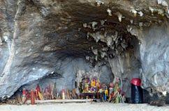 Σπηλιά πριγκηπισσών Nang Phra Στοκ φωτογραφία με δικαίωμα ελεύθερης χρήσης