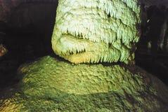 Σπηλιά σταλακτιτών, Ισραήλ Στοκ Φωτογραφία