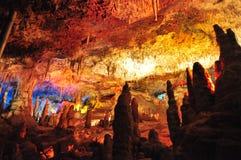 Σπηλιά σταλακτιτών στοκ φωτογραφίες με δικαίωμα ελεύθερης χρήσης