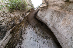 Σπηλιά στις Συρακούσες Στοκ Εικόνες