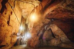 Σπηλιά του χεριού Buddha's της σπηλιάς νεράιδων Xiangdong στην περιοχή Zhongshan, Keelung, Ταϊβάν Στοκ φωτογραφίες με δικαίωμα ελεύθερης χρήσης