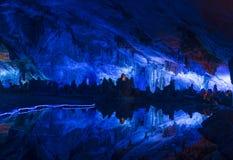 Σπηλιά φλαούτων καλάμων σε GuiLin Κίνα Στοκ φωτογραφία με δικαίωμα ελεύθερης χρήσης