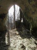 Σπηλιά ψαμμίτη Στοκ Φωτογραφία