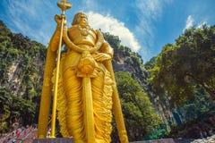 Σπηλιά Batu, Θεός Murugan, Κουάλα Λουμπούρ αγαλμάτων Στοκ εικόνα με δικαίωμα ελεύθερης χρήσης