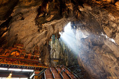 Σπηλιά Batu στη Μαλαισία Στοκ Φωτογραφία