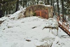 Σπηλιά Daniil ` s από το 15ο αιώνα Στοκ φωτογραφίες με δικαίωμα ελεύθερης χρήσης