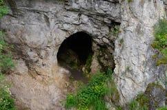 Σπηλιά Denisova Στοκ εικόνες με δικαίωμα ελεύθερης χρήσης