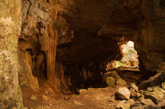 Σπηλιά Mineiros Buracos σε Montejunto στοκ εικόνες