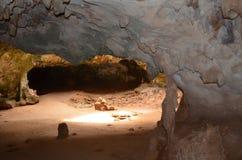 Σπηλιά Quadirikiri στο εθνικό πάρκο Arikok Στοκ Εικόνες