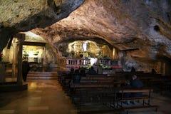 Σπηλιά Sant'arcangelo Στοκ φωτογραφία με δικαίωμα ελεύθερης χρήσης