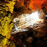 Σπηλιά Thein Cung ήχων καμπάνας Στοκ Εικόνες