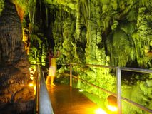 Σπηλιά Zeus Στοκ Φωτογραφία