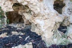 Σπηλιές ασβεστόλιθων Στοκ εικόνα με δικαίωμα ελεύθερης χρήσης