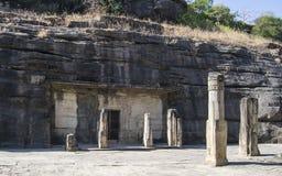Σπηλιές Ινδία Udayagiri Στοκ εικόνα με δικαίωμα ελεύθερης χρήσης