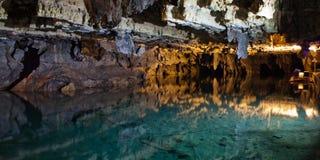 Σπηλιές Ιράν Alisadr Στοκ εικόνες με δικαίωμα ελεύθερης χρήσης