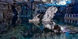 Σπηλιές Ιράν Alisadr Στοκ φωτογραφίες με δικαίωμα ελεύθερης χρήσης
