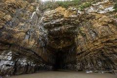 Σπηλιές καθεδρικών ναών, Catlins, νότιο νησί, Νέα Ζηλανδία Στοκ Φωτογραφία