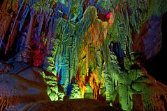 Σπηλιές καρστ Στοκ Εικόνες