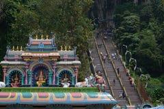 σπηλιές Κουάλα Λουμπούρ Μαλαισία batu πλησίον Στοκ εικόνα με δικαίωμα ελεύθερης χρήσης
