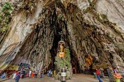 Σπηλιές Κουάλα Λουμπούρ, Μαλαισία Batu Στοκ Εικόνες