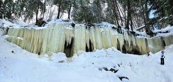 Σπηλιές πάγου Eben, Μίτσιγκαν ΗΠΑ Στοκ εικόνες με δικαίωμα ελεύθερης χρήσης