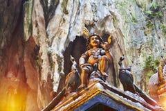 Σπηλιές Batu Στοκ εικόνα με δικαίωμα ελεύθερης χρήσης