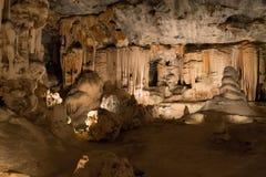 Σπηλιές Cango σε Oudtshoorn Νότια Αφρική Αφρικανικό ορόσημο Στοκ εικόνα με δικαίωμα ελεύθερης χρήσης