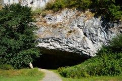 Σπηλιές Sloupsko-sloupsko-sosuvske Στοκ Φωτογραφίες