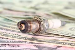 σπινθήρας βυσμάτων δολαρ Στοκ φωτογραφία με δικαίωμα ελεύθερης χρήσης
