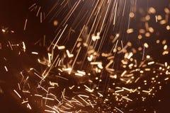σπινθήρας ηλεκτρικής δύν&alpha Στοκ εικόνα με δικαίωμα ελεύθερης χρήσης
