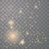 Σπινθήρες σκόνης αστεριών απεικόνιση αποθεμάτων
