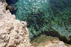σπινθήρισμα θάλασσας Στοκ φωτογραφίες με δικαίωμα ελεύθερης χρήσης