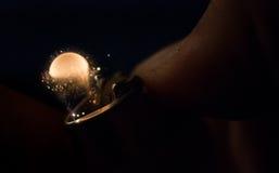 Σπινθήρισμα στη νύχτα στοκ εικόνες με δικαίωμα ελεύθερης χρήσης