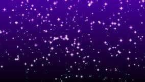 Σπινθηρίσματα αστεριών απόθεμα βίντεο