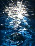 Σπινθηρίσματα νερού Στοκ Εικόνα