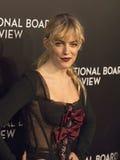 Σπινθηρίσματα του Riley Keough στα βραβεία Gala ταινιών NBR Στοκ Εικόνες