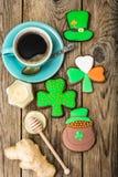 Σπιτικά κέικ την ημέρα του ST Πάτρικ Στοκ φωτογραφία με δικαίωμα ελεύθερης χρήσης