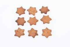 Σπιτικά μπισκότα. Ενάρξεις Στοκ φωτογραφία με δικαίωμα ελεύθερης χρήσης