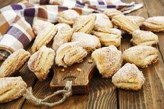 Σπιτικά μπισκότα με τη στάρπη Στοκ εικόνα με δικαίωμα ελεύθερης χρήσης