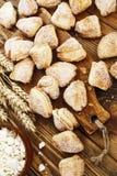 Σπιτικά μπισκότα με τη στάρπη Στοκ Εικόνες