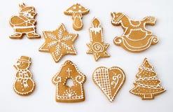Σπιτική πιπερόριζα Χριστουγέννων Στοκ εικόνα με δικαίωμα ελεύθερης χρήσης