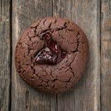 Σπιτικά μπισκότα σοκολάτας με το το βακκίνιο στοκ φωτογραφία με δικαίωμα ελεύθερης χρήσης