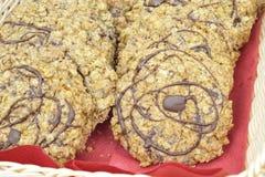 Σπιτικά μπισκότα σοκολάτας δημητριακών Στοκ Φωτογραφία